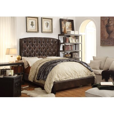 Feliciti Queen Upholstered Platform Bed by Mulhouse Furniture
