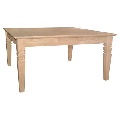 Unfinished Wood Java Coffee Table II by International Concepts