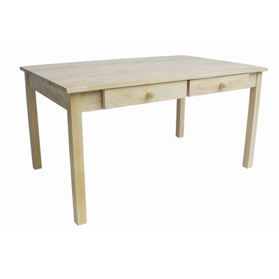 International Concepts Juvenile Kids Writing Table with 4 Drawers