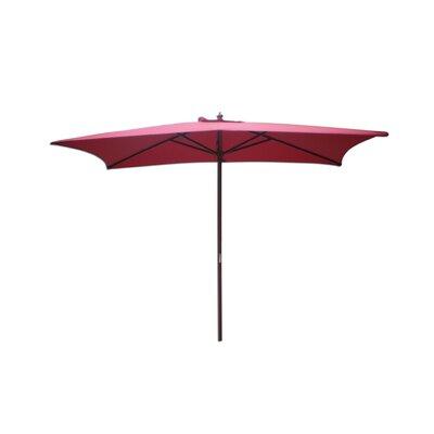 7.8' Rectangular Market Umbrella by International Concepts