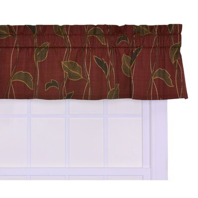 "Concetta Large Scale Leaf and Vine 50"" Curtain Valance Product Photo"