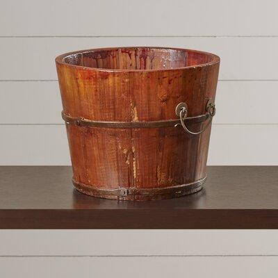 Wooden Sink Bucket by August Grove
