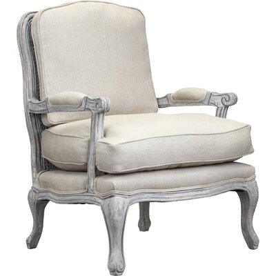 Spencer Arm Chair in Antique White Wash by One Allium Way