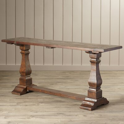 Louise Console Table in Brown by One Allium Way