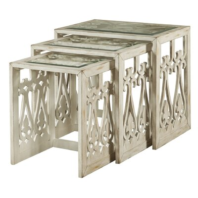 3 Piece Nesting Tables by One Allium Way