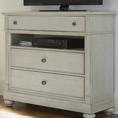 Harbor View 3 Drawer Media Chest by Beachcrest Home