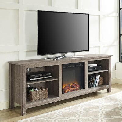 TV Stand with Electric Fireplace by Beachcrest Home