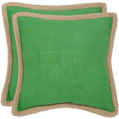 Fiber Cotton Throw Pillow by Beachcrest Home