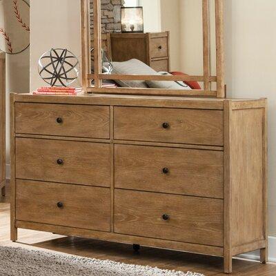 Natural Elements 6 Drawer Dresser by Loon Peak