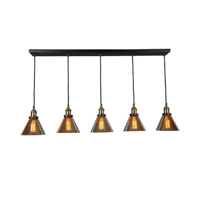 Marta Linear 5 Light Kitchen Island Pendant Product Photo