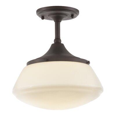 Bullock 1-Light Semi-Flush Mount Product Photo
