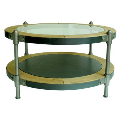 Port Coffee Table with Magazine Rack by Trent Austin Design