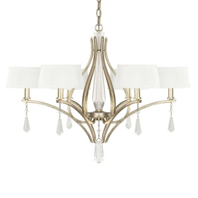Uptown 6 Light Chandelier Product Photo