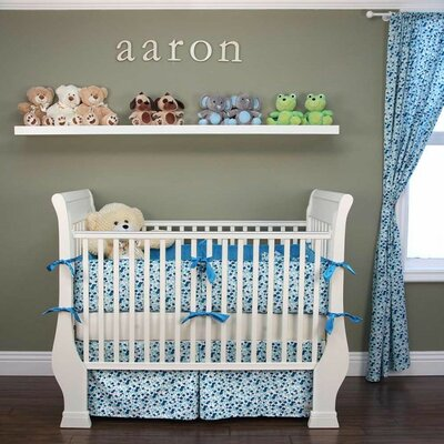 Pick a Bunch 6 Piece Crib Bedding Set by My Blankee