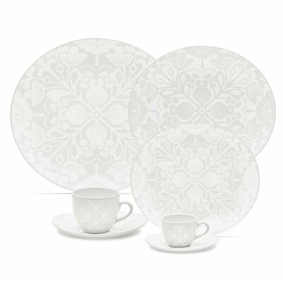 Coup 20 Piece Lace Dinnerware Set by Oxford Porcelain
