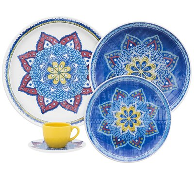 Coup 20 Piece Harmony Dinnerware Set by Oxford Porcelain