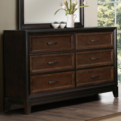 Sedona 6 Drawer Dresser by Simmons Casegoods