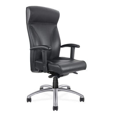 Executive Seating High Back Chair with Arms by Via Seating