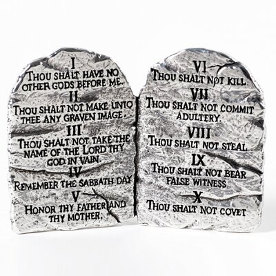 Ten Commandments Table Accent by BobSiemonDesigns