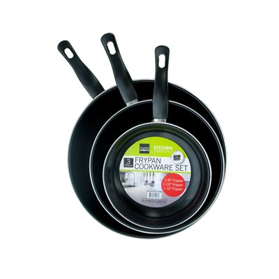 3 Piece Frying Pan Set by KoleImports