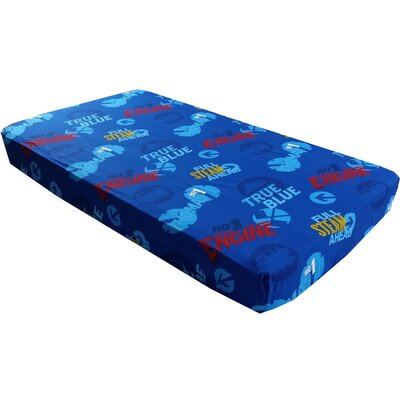 Thomas Train Toddler Fitted Sheet All Aboard Bedding by Store 51