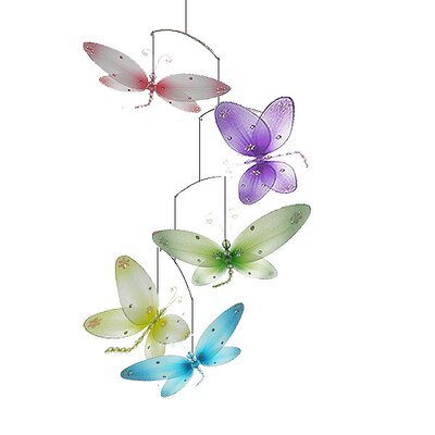 Taylor 3D Dragonfly Decoration Mobile by The Butterfly Grove