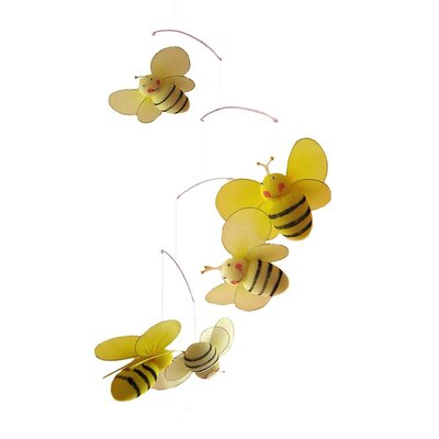 Bailey Bumblebee Decoration Mobile by The Butterfly Grove