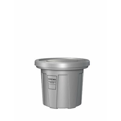 Cobra Flame Retardant Trash Receptacle with Lid by Cortech USA