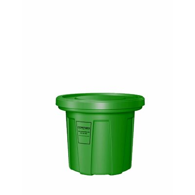 Cobra Food Grade Trash Receptacle with Lid by Cortech USA