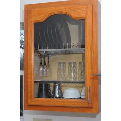 Cabana In-cabinet Dish Drying and Storage Rack by Zojila