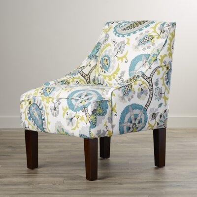 Heady Upholstered Arm Chair by Bungalow Rose
