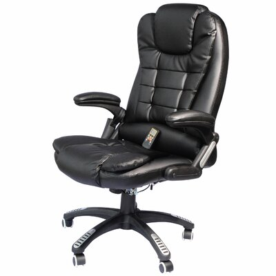 Faux Leather Heated Massage Chair by HomCom