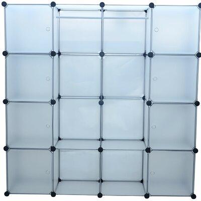 "14.5"" Deep Extra Wide Modular Portable Storage Closet System Product Photo"