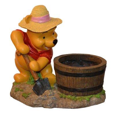 Disney Winnie the Pooh Novelty Statue Planter by Woods International
