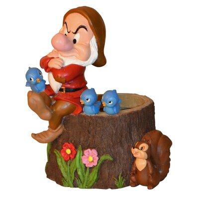 Disney Grumpy Novelty Statue Planter by Woods International