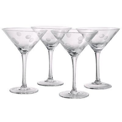Polka Dot Martini Glass by Artland
