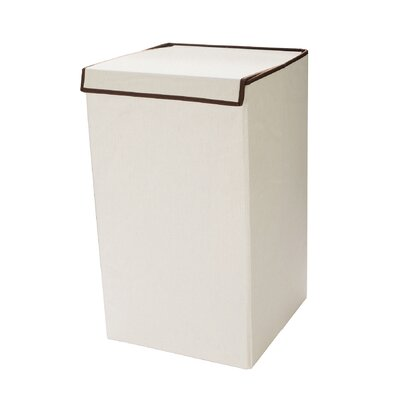 Deluxe Laundry Hamper with Lid Folds by Villacera