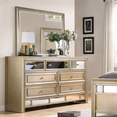 Champagne 7 Drawer Dresser by Fairfax Home Collections