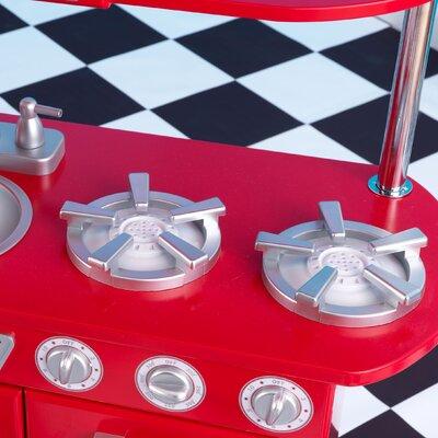 KidKraft Personalized Red Vintage Kitchen