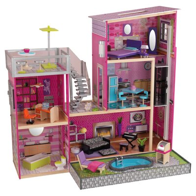Uptown Dollhouse with Furniture by KidKraft