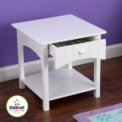 Kidkraft Nantucket 1 Drawer Nightstand Amp Reviews Wayfair