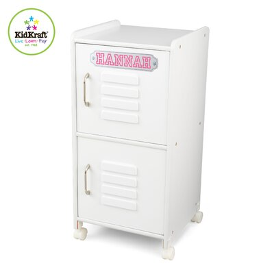 KidKraft Personalized Medium Locker in White