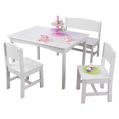 Kidkraft nantucket kids 4 piece table and chair set amp reviews