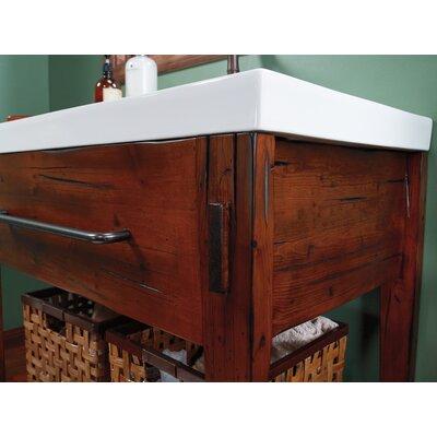"""Portland 36"""" Bathroom Vanity Cabinet Base in Rustic Pine ..."""