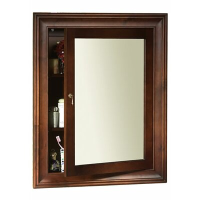 Traditional Solid Wood Framed Medicine Cabinet in Colonial Cherry Product Photo