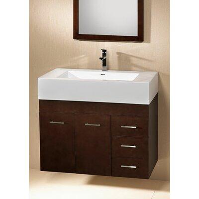 "Ronbow Modular Bella 32"" Single Wall Mount Bathroom Vanity Set"