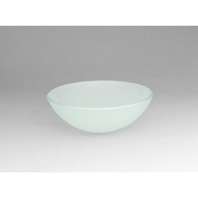 Ronbow Vessel Bathroom Sink with Tempered Glass