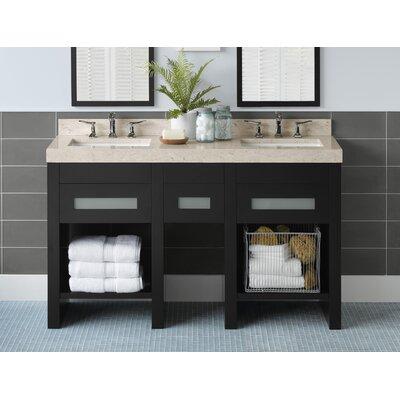 "Ronbow Kendra 59"" Double Bathroom Vanity Set"