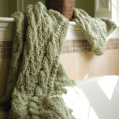 Hampton Hand Knitted Throw Blanket by Bedford Cottage-Kennebunk Home