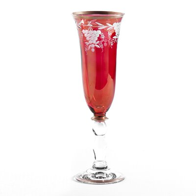 Grape Champagne Flute by Intrada